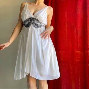 THIRD MILLENNIUM (8) silk cotton boho dress